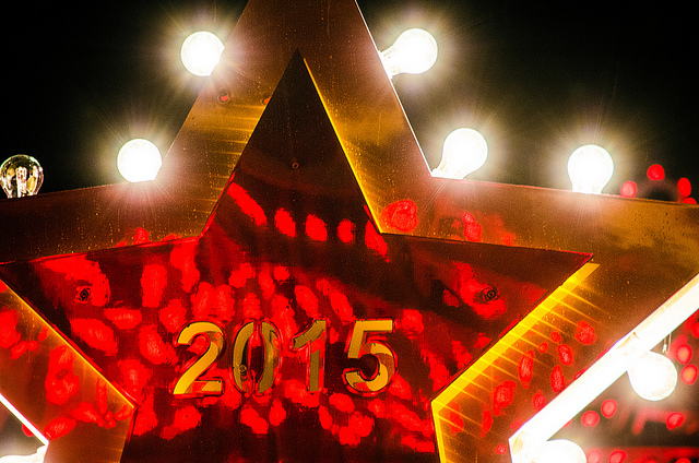 May you be a rising star in 2015